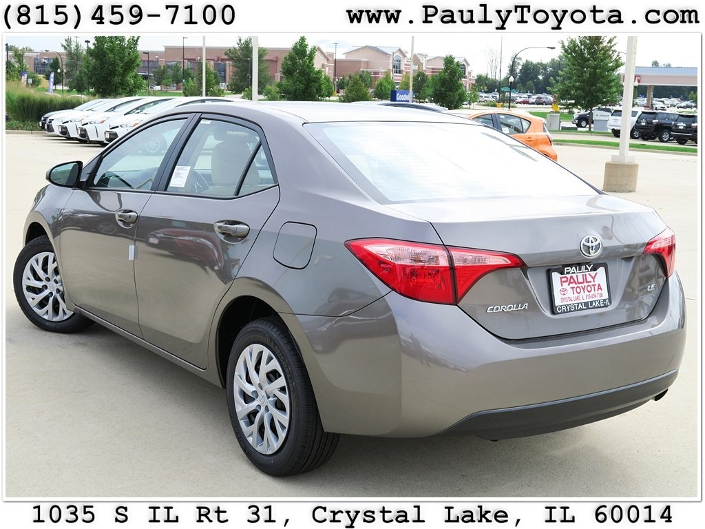 new 2017 toyota corolla le 4d sedan in crystal lake co26475 pauly toyota. Black Bedroom Furniture Sets. Home Design Ideas
