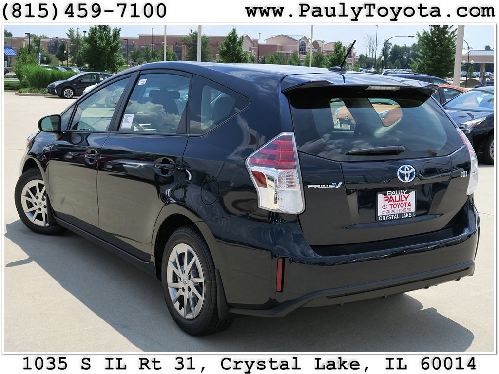 new 2017 toyota prius v four station wagon in crystal lake pr26185 pauly toyota. Black Bedroom Furniture Sets. Home Design Ideas